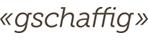 Gschaffig Logo